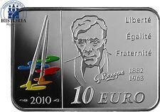 Frankreich 10 Euro Silber 2010 PP Bedeutende Maler: Georges Braque