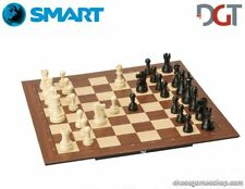 DGT SMART Board WI + Plastic weighted chess pieces - Electronic CHESS set - WI