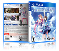 Blue Reflection - ReplacementPS4 Cover and Case. NO GAME!!