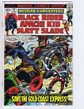 Western Gunfighters #13 Marvel Pub 1973