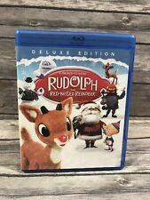 Rudolph the Red-Nosed Reindeer [Blu-ray Disc] Deluxe Edition Animated Classic VG