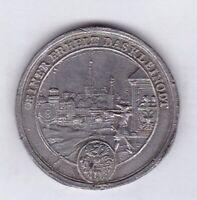 einer erhelt das kleinodt eines ist noht Medaille Zinn medal tin