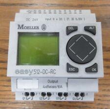 Eaton Moeller Programmable Relay EASY512-DC-RC *Guaranteed NO DOA*