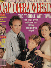 All My Children, Susan Diol, Thyme Lewis - October 12, 1993 Soap Opera Weekly