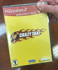 Crazy Taxi PS2 New Playstation 2 NEW!! Sealed!!