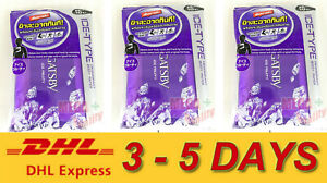 3 x Gatsby Japan ICE-TYPE Deodorant Body Cleansing Sheets (10 sht) Ice Fruity