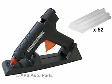 New Cordless Glue Gun 15-80w Kit & 52 Gluesticks Hot Rechargeable Detachable