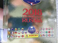 2018 PANINI Russia WORLD CUP SWISS GOLD Stickers SINGLES - PICK & COMPLETE SET