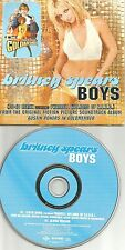 BRITNEY SPEARS & PHARRELL WILLIMAS Boys REMIX Europe SLEEVE CD single USA seller