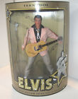 "ELVIS PRESLEY TEEN IDOL DOLL 12"" Pink Suit Guitar & Stand COA LtdEd 1993 Hasbro"