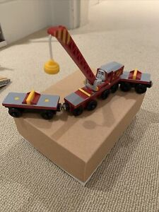 Thomas & Friends Trackmaster Railway Rocky To The Rescue Motorized Crane GUC