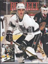 November 1993 Beckett Hockey Price Guide NHL  #37 Luc Robitaille