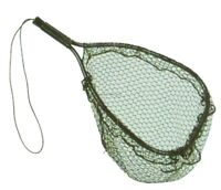 NEW! Ed Cumings Inc B-135 Ed Cumings Fish Saver Landing Net (Black, 14-Inc B-135