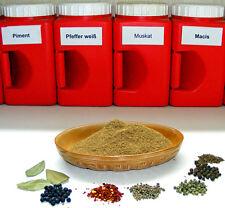 Wildbratwurstgewürz - Grundmischung ohne Zusatzstoffe