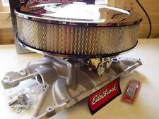 Rang Rover Classic V8 3.5, 3.9, 4.2 Edelbrock 500cfm, Prise & Air Cleaner Paquet