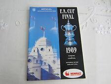 1989 FA CUP FINAL EVERTON v LIVERPOOL