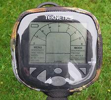 Teknetics Gamma/DELTA/Caja de control de detector de metales-ALPHA Cubierta-otoño Camo