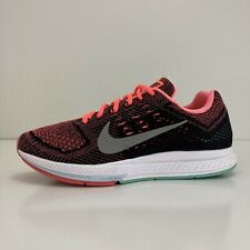 Nike Zoom Structure 18 Women's Size 9.5 Hyper Punch/Turquoise 683737-800 Runner