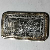 New Orleans, Mother Lode Mint 1 Ounce .999 Silver Art Bar