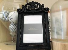 "Photo Frame French Provincial Photo Frame Shakespeare Black  4""x 6""  Brand New"
