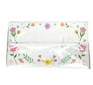 Spring Flowers Place Cards Pack Of 100 Tent Cards 2 x 3 1/2 in