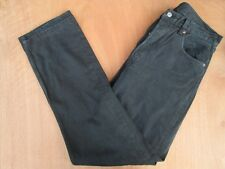 """MEN`S LEVI`S 501 BLACK JEANS W33"""" - L34"""" RED TAB STRAIGHT LEG MADE IN USA"""