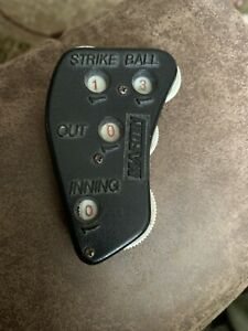 Baseball Umpire Clicker Count Indicator Balls Strikes Outs Innings