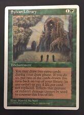 MTG magic *SYLVAN LIBRARY* Alternate 4th Edition Green Enchantment Rare English