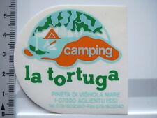 Aufkleber Sticker von INNEN La Tortuga - Camping - Aglientu (5688)