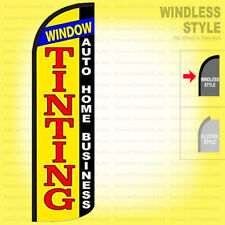 Window Tinting Auto Home Business Windless Swooper Flag 3x115 Feather Sign Yq