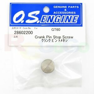 CRANK PIN STOP SCREW GT60 OS28602200 **O.S. Engines Genuine Parts**