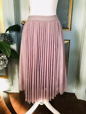 NWT Charlotte Russe Lavender Pleated Full Skirt Size M