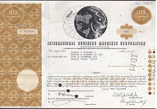 International Business Machines (Ibm) 1968-1971 stock certificate Sbn Co.