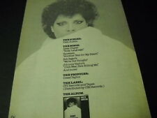 PATTI AUSTIN The Singer The Songs The Producer The Label 1980 PROMO POSTER AD