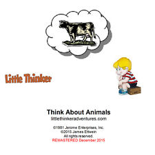Little Thinker - Think About Animals - New Cd remasterd from cassette tape