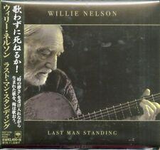 WILLIE NELSON-LAST MAN STANDING-JAPAN CD F30
