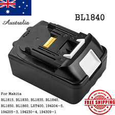 18V 4.0AH Battery For Makita BL1840 BL1830 BL1840 BL1815 Lithium Ion Cordless AU