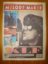 MELODY MAKER 1991 FEB 16 KLF JULEE CRUISE SONIC YOUTH