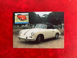 ST VINCENT BEQUIA 1984 PHQ MAXI CARD PHQ CLASSIC CARS PORSCHE 356B CABRIOLET
