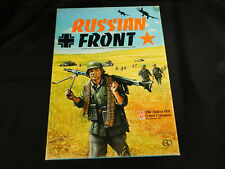 Russian Front Board Game Avalon Hill Punched  WWII Board War Game