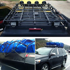 Car Cargo Net Elasticated Net Elastic Auto Roof Top Rack Covers Network Luggage