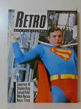 RETRO DAS FILMJOURNAL  SUPERMAN - STEPHEN KING - SAMUEL FULLER  1984 (KH86)