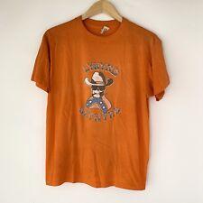 70s Lynyrd Skynyrd Tour Band Rock Shirt 1970s Zz Top Tom Petty Orange 50/50