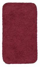 Royale Burgundy Bath Rugs Mohawk Home Solid Merlot Burgundy 24in X 40in