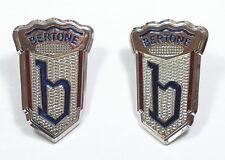 Bertone-emblemi FIAT 850, Maserati, Alfa Romeo