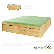 Très beau lit à rangement 140 x 200cm 2 grands tiroirs à roulettes et 1 sommi...