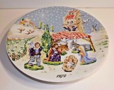 Royal Limoges The Nativity Christmas Plate 1st in Series 1972 Coa included #2583