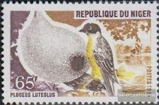 Niger 763 (completa edizione) MNH 1981 Uccelli