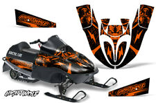 Arctic Cat Sno Pro 120 Sled Wrap Snowmobile Decal Graphics Kit 09-13 NIGHTWOLF O