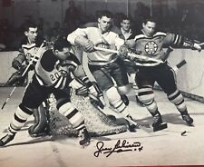 JEAN BELIVEAU AUTOGRAPHED SIGNED MONTREAL CANADIENS 8X10 HALL OF FAME 1972 #4
